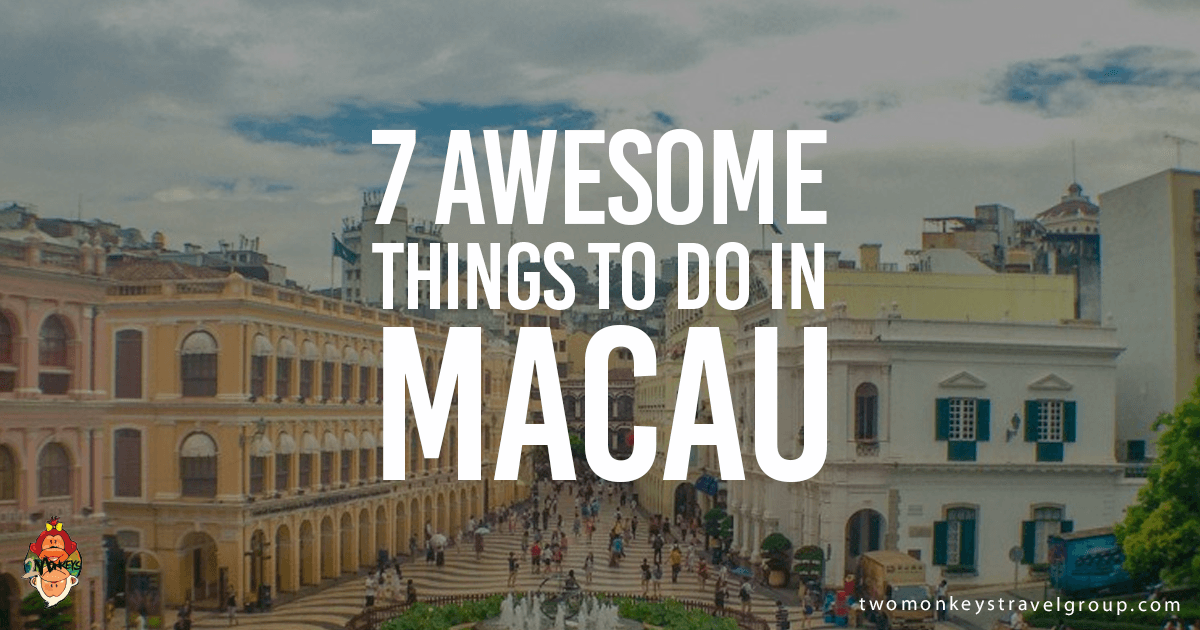 Attractions in Macau