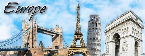 International Europe tour Package From Delhi