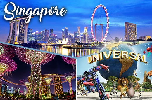 travel agent for singapore city package