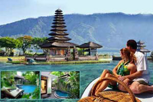 travel agent for bali honeymoon package