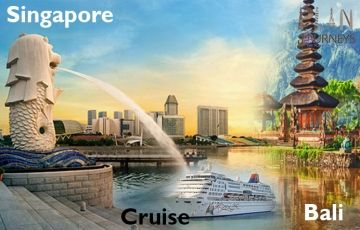 Bali Singapore with Cruise Tour Package 9811042001